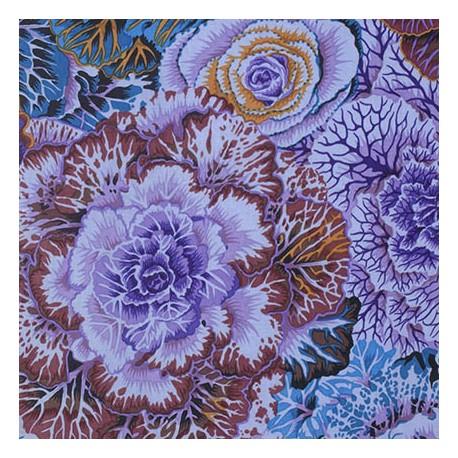 Tissu Philip Jacobs choux violet mauve Brassica PJ051
