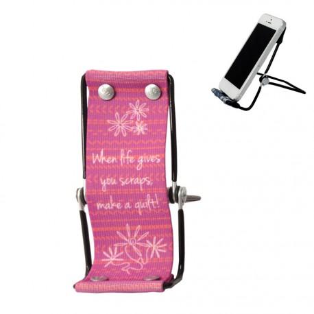 """Support de téléphone - Transat violet """"When life gives you..."""""""