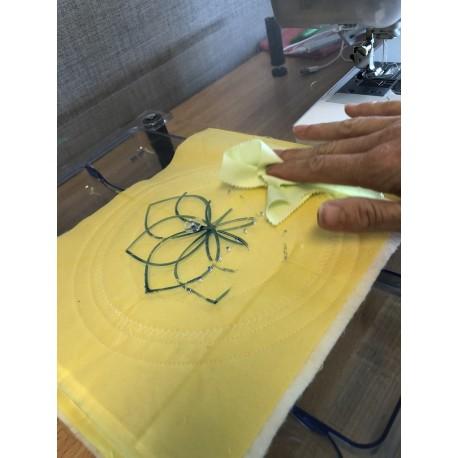 Set de 3 feutres effaçables pour surfaces en acrylique Sew Steady