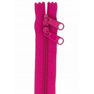 Fermeture à glissière double curseur 76 cm - Rose