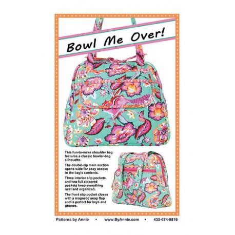Patron de sac Bowl Me Over ! By Annie (Ne m'envoie pas bouler !)