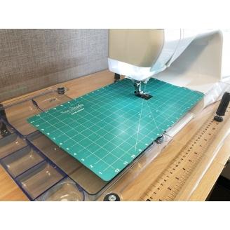 Grid Glider - Tapis quadrillé glissant pour machine à coudre