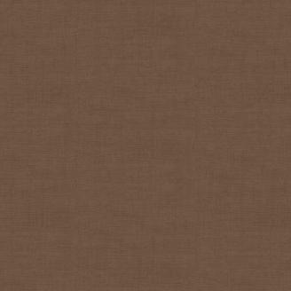 Tissu patchwork faux-uni linen marron mocha