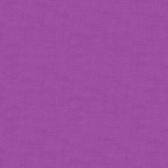 Tissu patchwork faux-uni linen violet hyacinthe