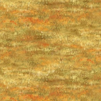 Tissu patchwork imitation prairie automnale