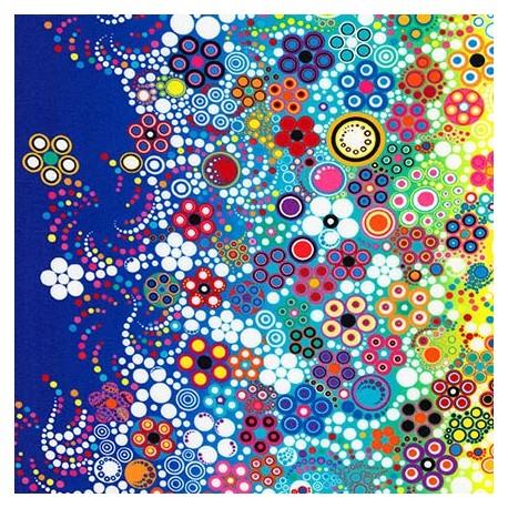 Tissu patchwork festival de couleurs - Effervescence