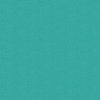 Tissu patchwork minis pois fond turquoise - Monsoon