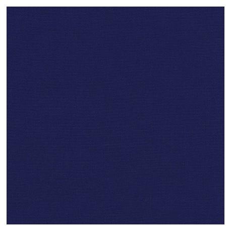 Tissu patchwork uni de Kona - Bleu royal