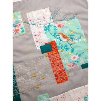 Sur la branche - kit patchwork contemporain