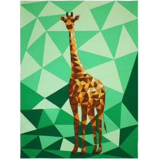The Giraffe Abstractions quilt (La Girafe) - Modèle de patchwork