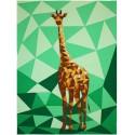 The Giraffe Abstractions quilt (La Girafe) - Modèle de patchwork
