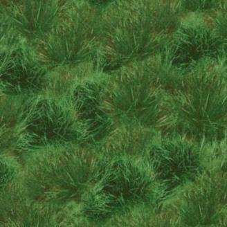 Tissu patchwork imitation herbe verte