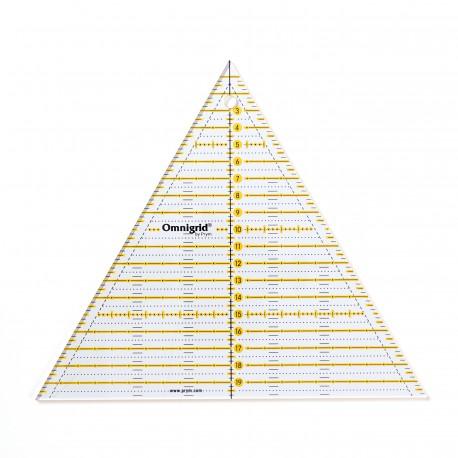 Règle patchwork multi triangle 60°