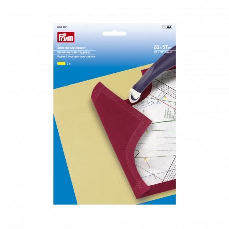 Papier à décalquer pour couture de Prym - jaune