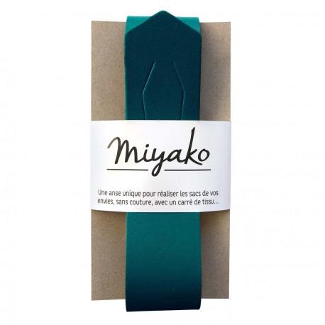 Anse de sac en cuir Miyako - Canard