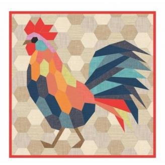 The Rooster (le coq) - Modèle de patchwork