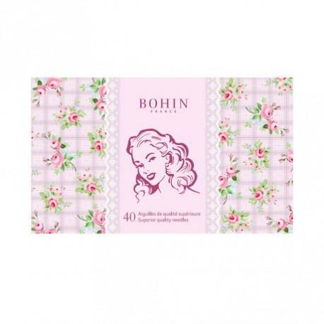 Carnet de 40 Aiguilles de Bohin - édition vintage 185 ans