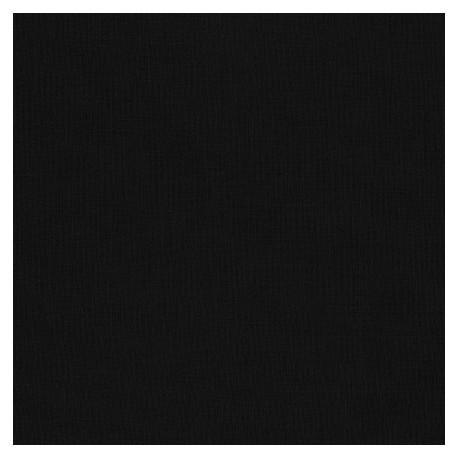 Tissu patchwork uni de Kona - Noir
