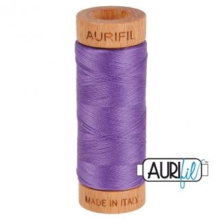 Fil de coton Mako 80 Aurifil - Lavande