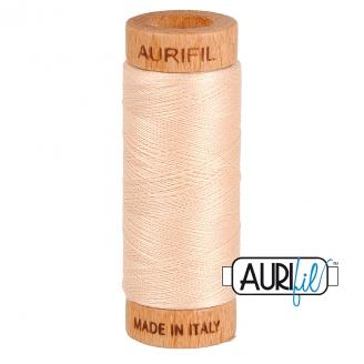 Fil de coton Mako 80 Aurifil - Coquille 2315