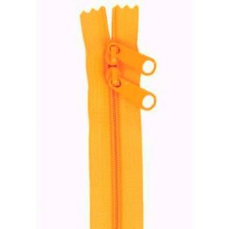 Fermeture à glissière double curseur 101 cm - Orange Papaye