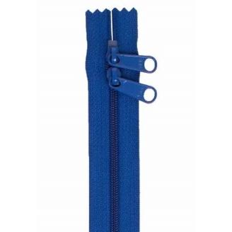 Fermeture à glissière double curseur 101 cm - Bleu Atmosphère