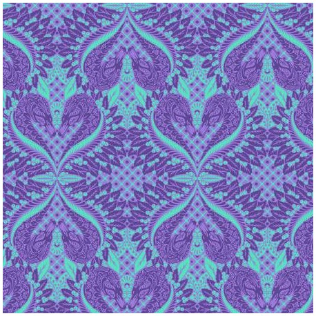 Tissu patchwork Tula Pink Cygne bleu Gate Keeper – Pinkerville