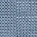 Tissu patchwork Tula Pink éventails bleus Serenity – Pinkerville