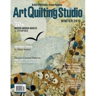 Art Quilting Studio Hiver 2019 (en anglais)