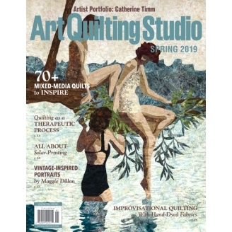 Art Quilting Studio Printemps 2019 (en anglais)