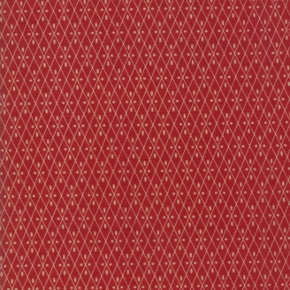 Tissu patchwork croisillons rouges - Vive la France de French General