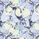 Tissu patchwork Tula Pink monstre, cygne et licorne Blind Faith violet – Pinkerville