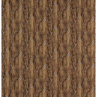 Tissu patchwork imitation bois