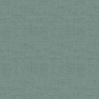 Tissu patchwork faux-uni linen vert poli