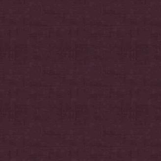 Tissu patchwork faux-uni linen aubergine