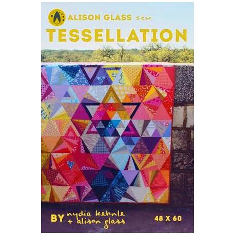 Tessellation Quilt - Modèle de patchwork par Alison Glass