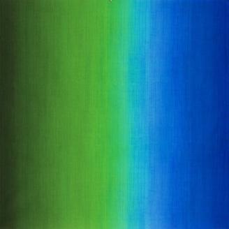 Tissu patchwork dégradé bleu/vert bluegrass - Fresh Hues