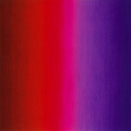 Tissu patchwork dégradé rouge/violet Valentine - Fresh Hues