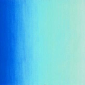 Tissu patchwork dégradé bleu Malibu - Fresh Hues