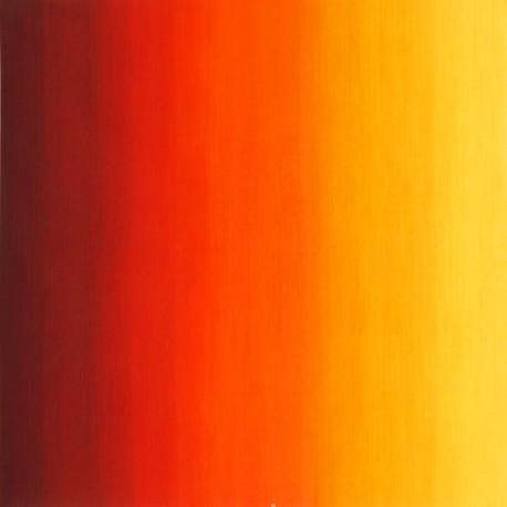 Tissu patchwork dégradé rouge/jaune Sunrise - Fresh Hues