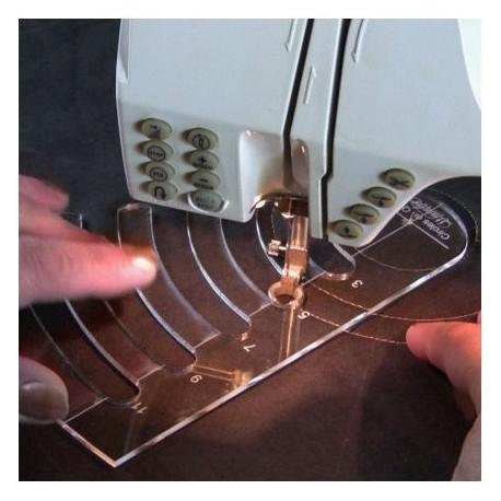 Samedi 12/01/19 - Cours de Quilting machine avec les règles à quilter