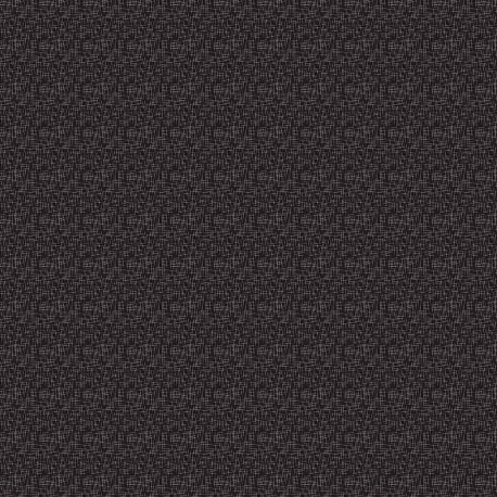 Tissu patchwork mini hashtags fond noir