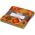 Charm pack de tissus Gustav Klimt