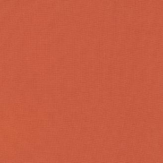 Tissu patchwork uni de Kona - Terracotta