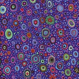 Tissu Kaffe Fassett Roman glass violet GP01
