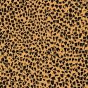 Tissu Gustav Klimt éclats noirs fond doré