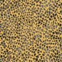 Tissu Gustav Klimt éclats gris foncé fond doré