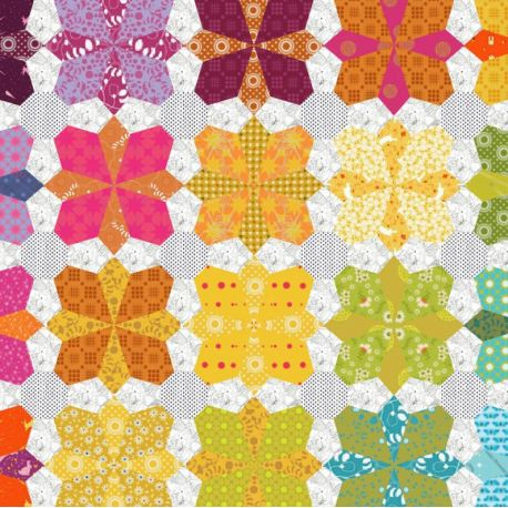 Mischief, gabarits pour modèle de patchwork à la main