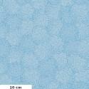 Tissu patchwork centres de fleurs fond turquoise - Murmur de Valori Wells