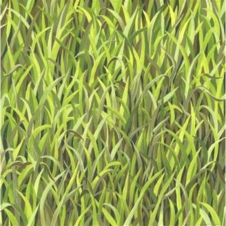 Tissu patchwork imitation herbes folles